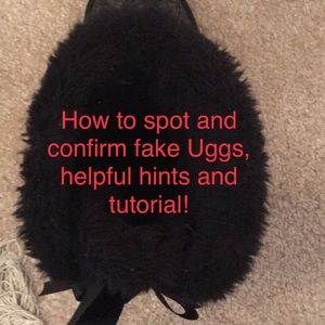 Not for sale.  Example of not authentic uggs.